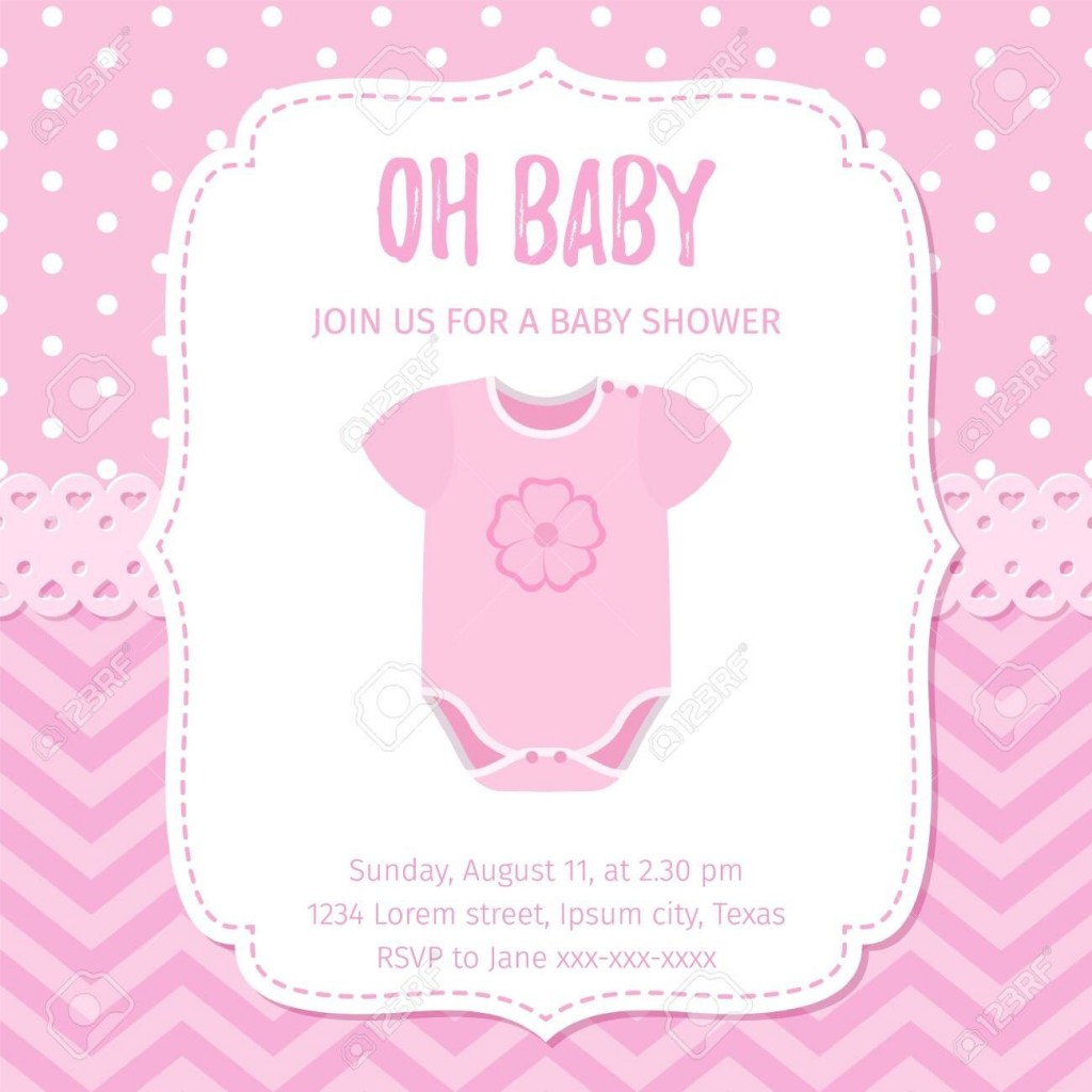 005 Marvelou Baby Shower Template Girl High Definition  Nautical Invitation Free For WordLarge