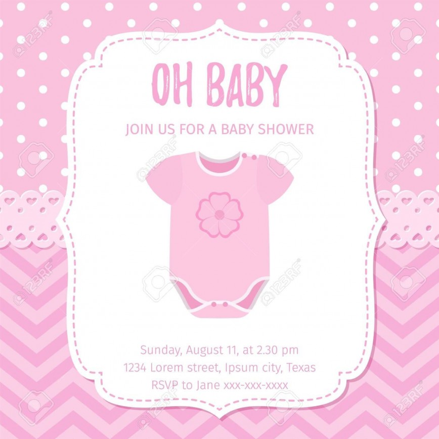 005 Marvelou Baby Shower Template Girl High Definition  Nautical Invitation Free Idea Floral