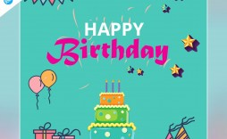 005 Marvelou Birthday Card Template Photoshop Highest Quality  Greeting Format 4x6 Free