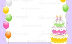 005 Marvelou Birthday Invitation Card Word Format Example  Template Free