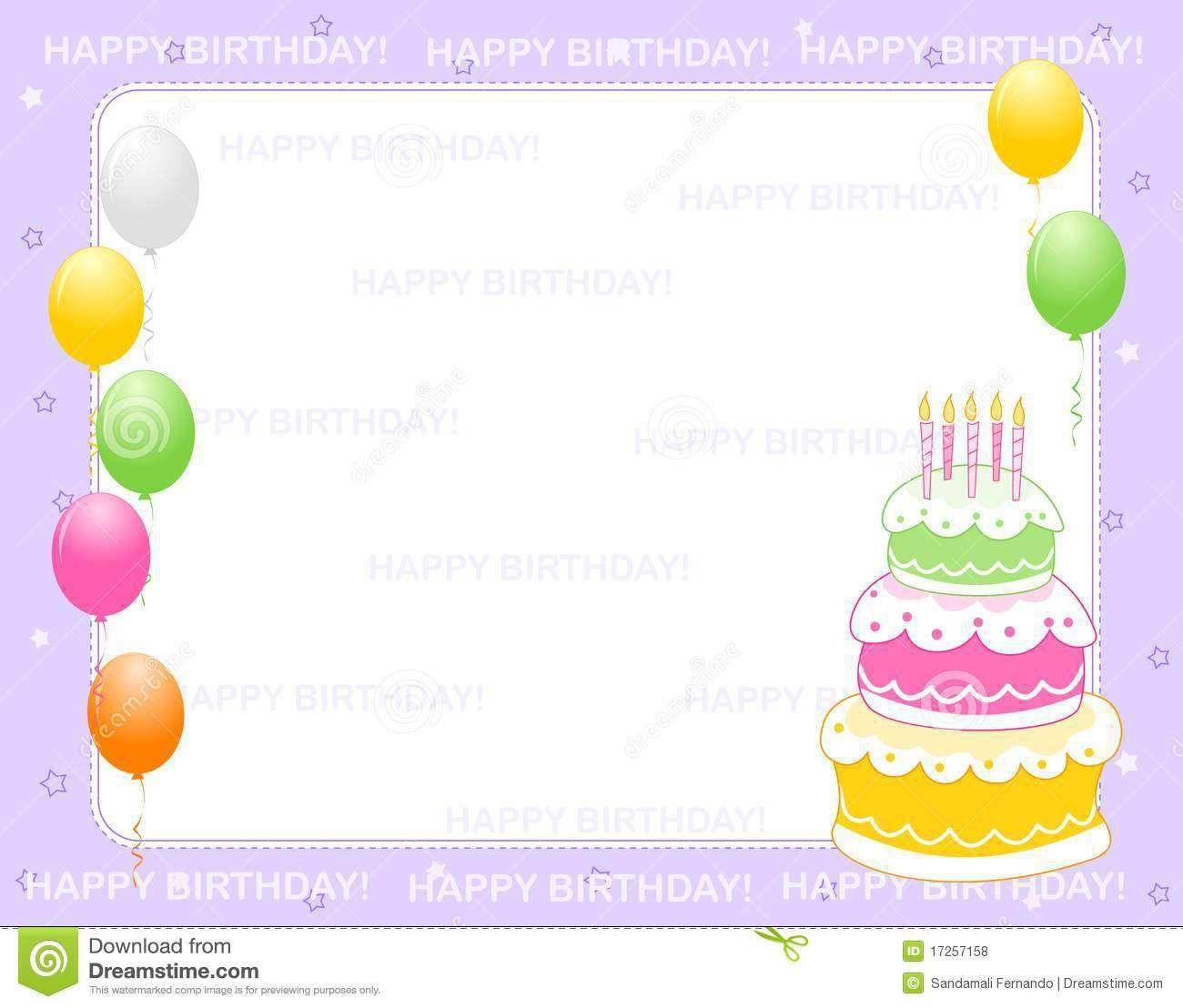 005 Marvelou Birthday Invitation Card Word Format Example  Template FreeFull