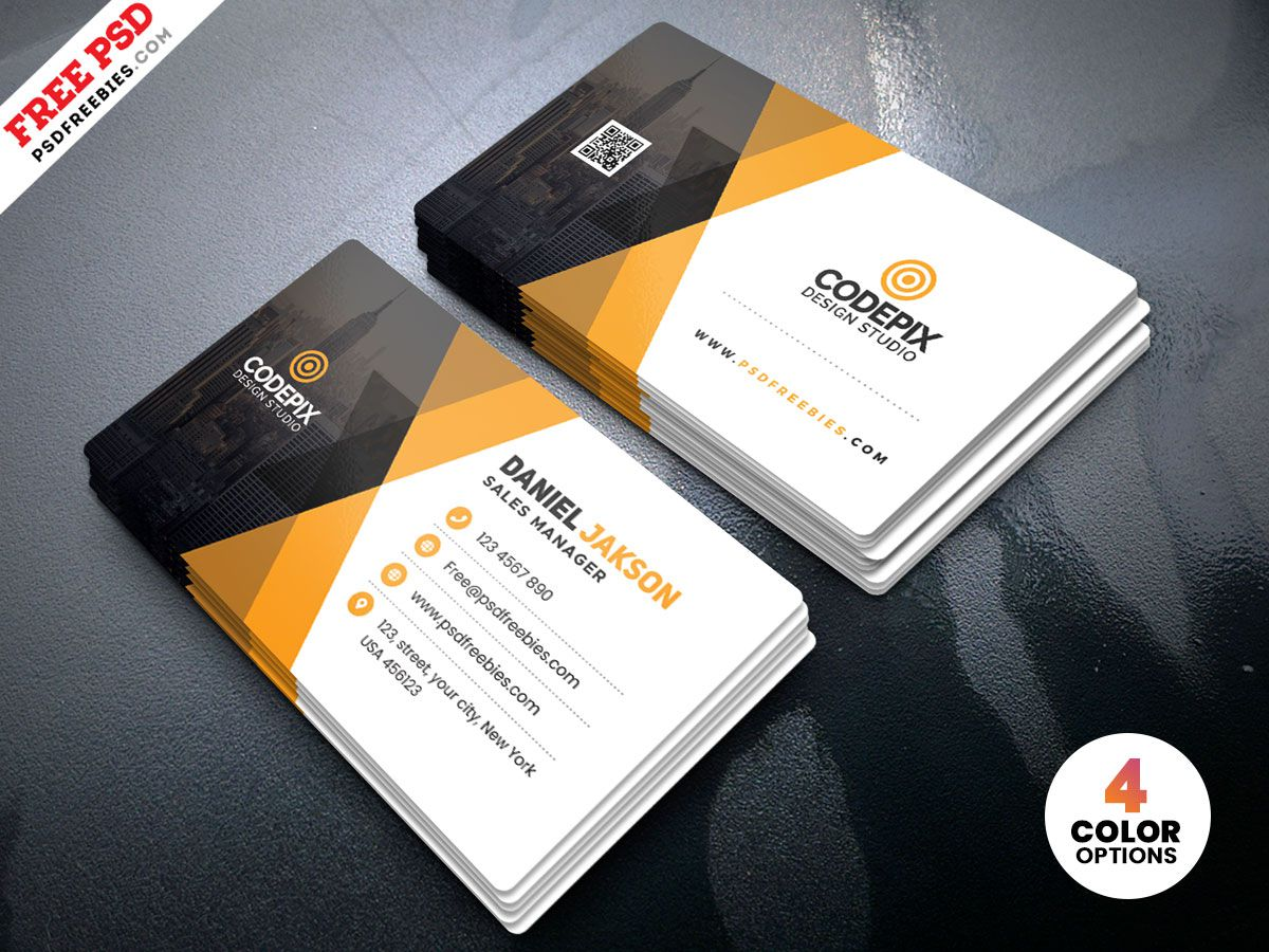 005 Marvelou Busines Card Template Psd Image  Professional Photographer Freebie Visiting File Free DownloadFull