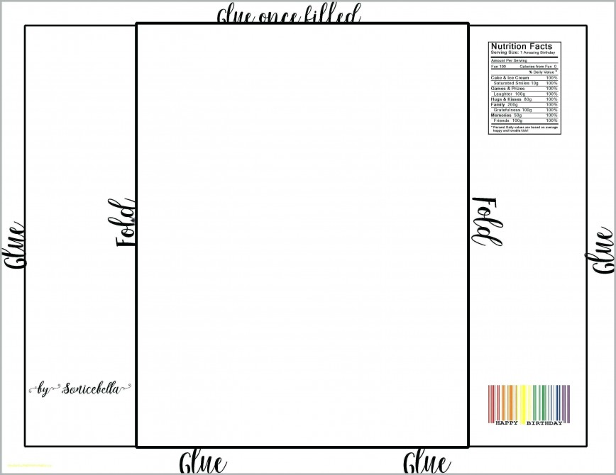 005 Marvelou Candy Bar Wrapper Template Microsoft Word High Def  Blank For Printable Free868