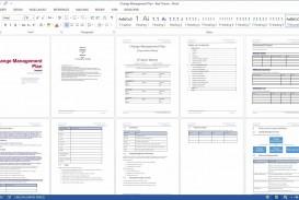 005 Marvelou Change Management Plan Template Idea