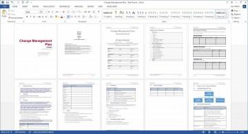 005 Marvelou Change Management Plan Template Idea 360