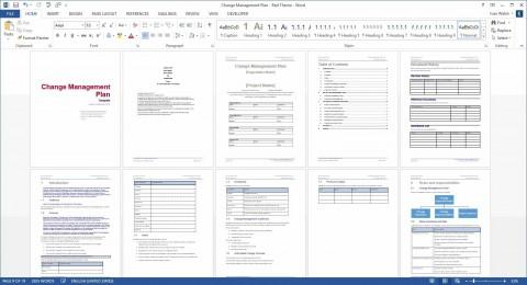 005 Marvelou Change Management Plan Template Idea 480