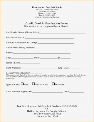 005 Marvelou Credit Card Authorization Template Idea  Form For Travel Agency Free Download Google Doc320