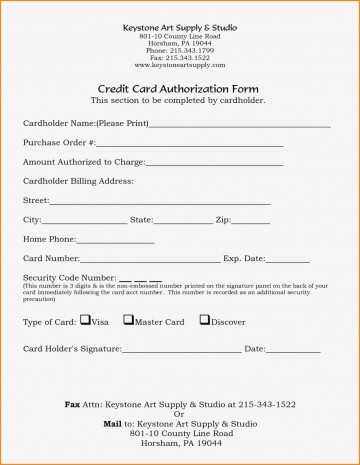 005 Marvelou Credit Card Authorization Template Idea  Form For Travel Agency Free Download Google Doc360