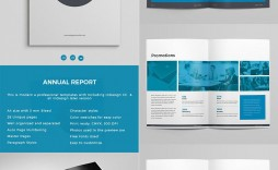 005 Marvelou Free Annual Report Template Indesign Image  Download Adobe