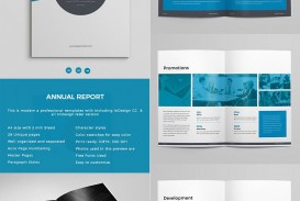 005 Marvelou Free Annual Report Template Indesign Image  Adobe Non Profit