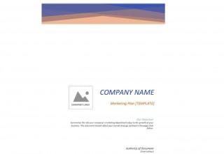 005 Marvelou Free Marketing Plan Template Word Highest Clarity  Digital Download320