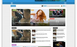 005 Marvelou Free Responsive Blogger Template With Slider Highest Clarity