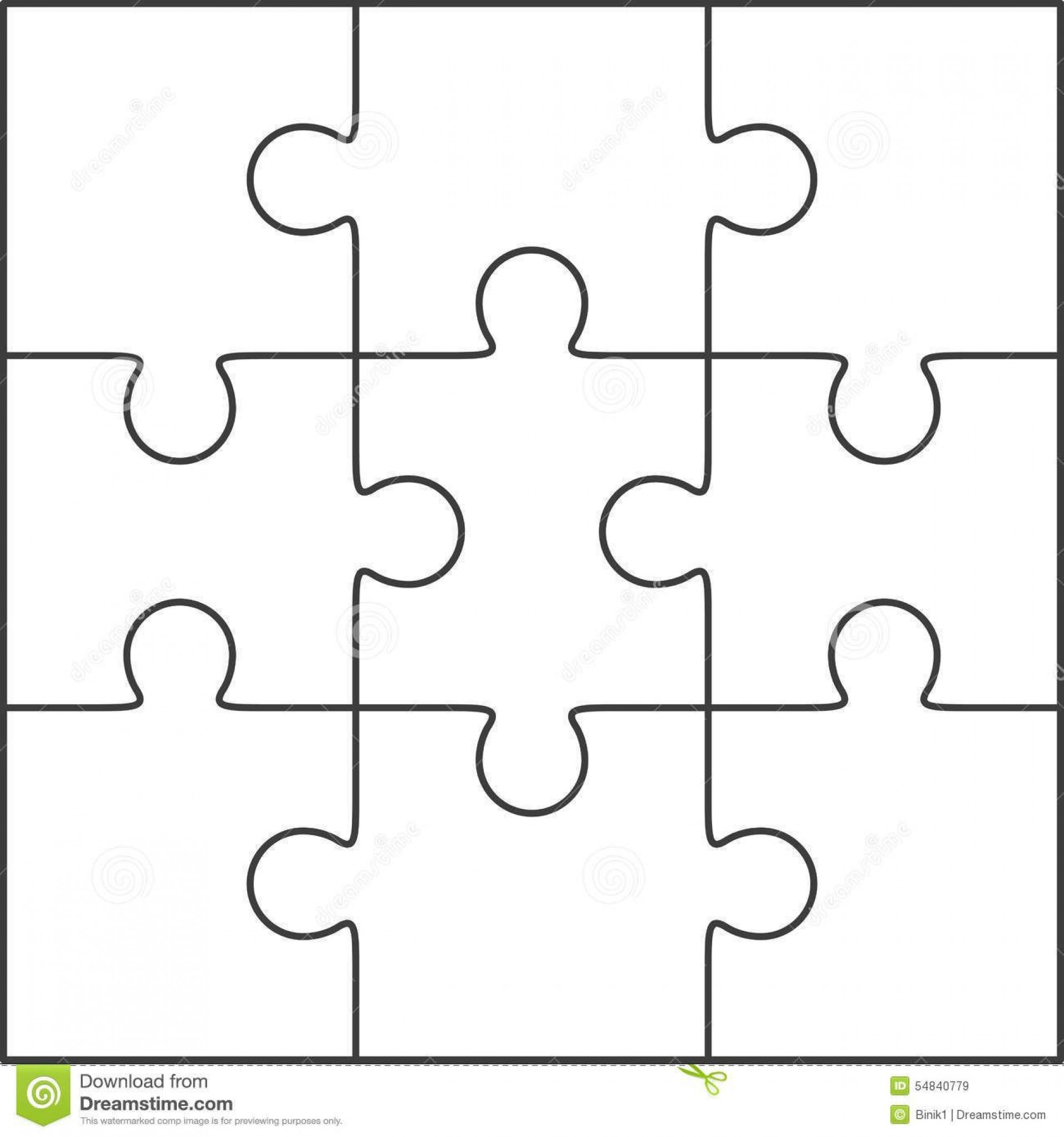 005 Marvelou Jig Saw Puzzle Template Photo  Printable Blank Jigsaw Vector Free Png1920