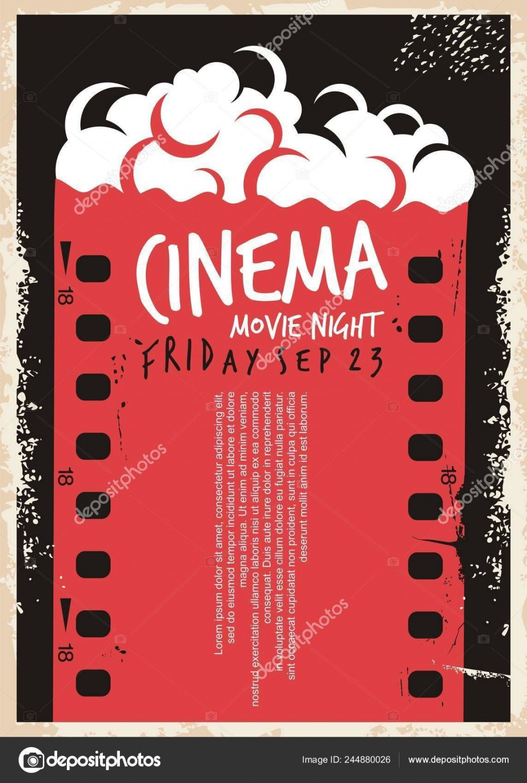 005 Marvelou Movie Night Flyer Template Highest Clarity  Templates Free Microsoft WordLarge