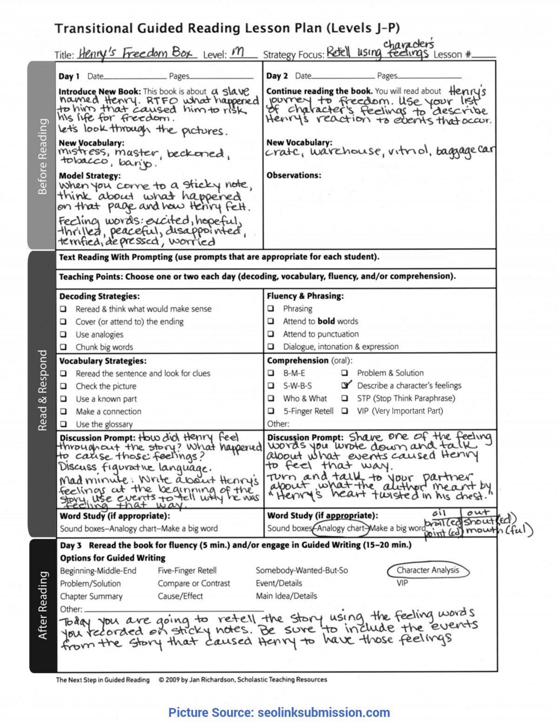 005 Marvelou Siop Lesson Plan Example First Grade Design  1st1920