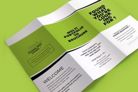 005 Marvelou Tri Fold Brochure Indesign Template Photo  Free Adobe