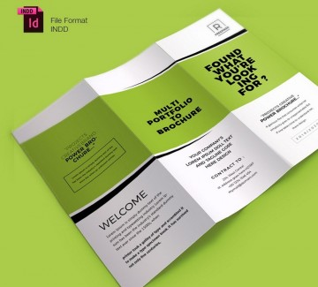 005 Marvelou Tri Fold Brochure Indesign Template Photo  Free Adobe360