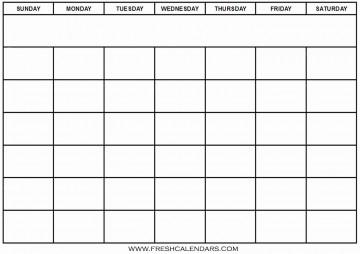 005 Outstanding Blank Calendar Template Word High Definition  Microsoft 2019 Bi Monthly360