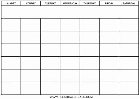 005 Outstanding Blank Calendar Template Word High Definition  Microsoft 2019 Bi Monthly480