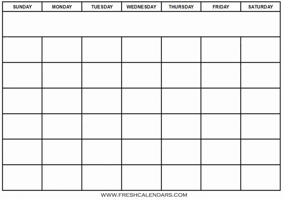 005 Outstanding Blank Calendar Template Word High Definition  Microsoft 2019 Bi Monthly960