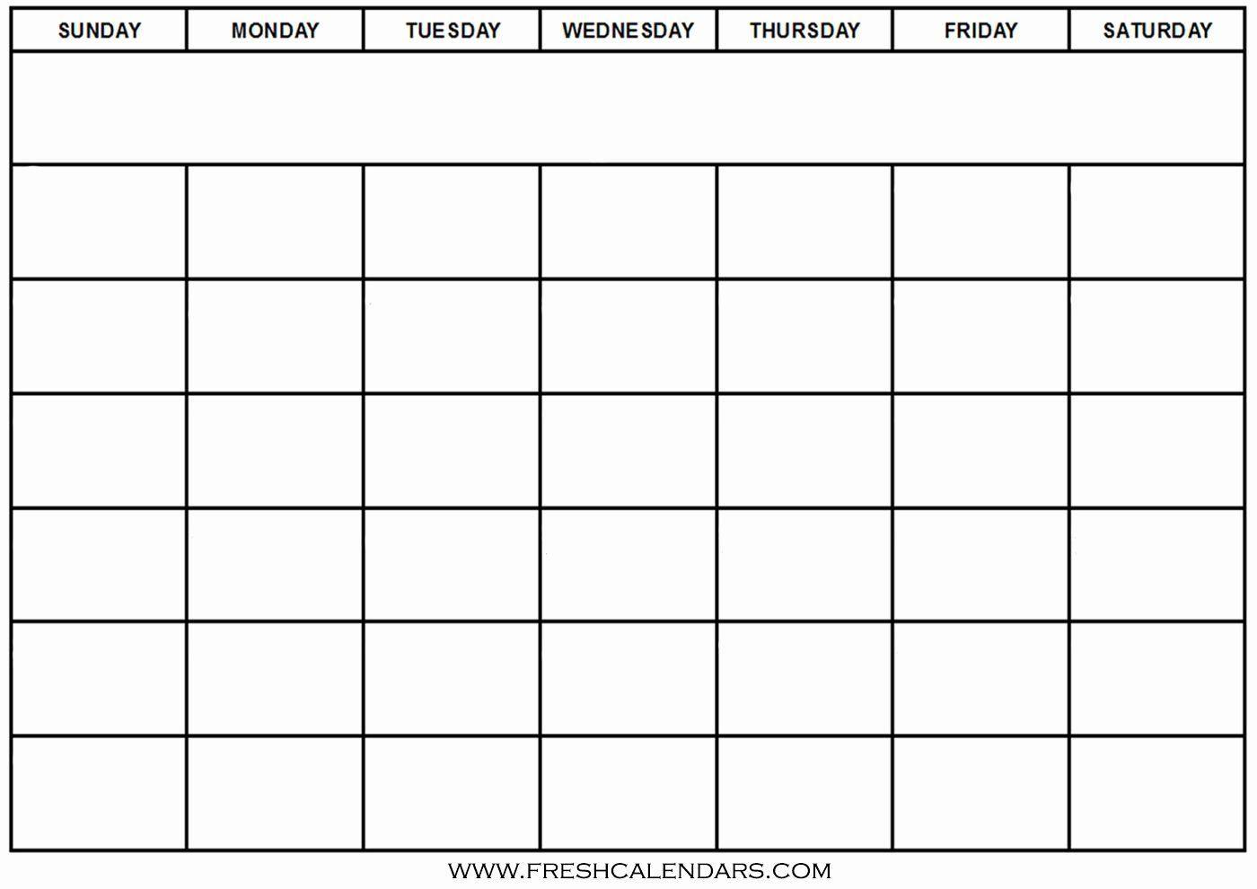 005 Outstanding Blank Calendar Template Word High Definition  Microsoft 2019 Bi MonthlyFull