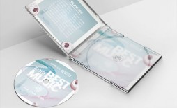 005 Outstanding Cd Cover Template Psd High Definition  Sleeve Case Free Download Layout