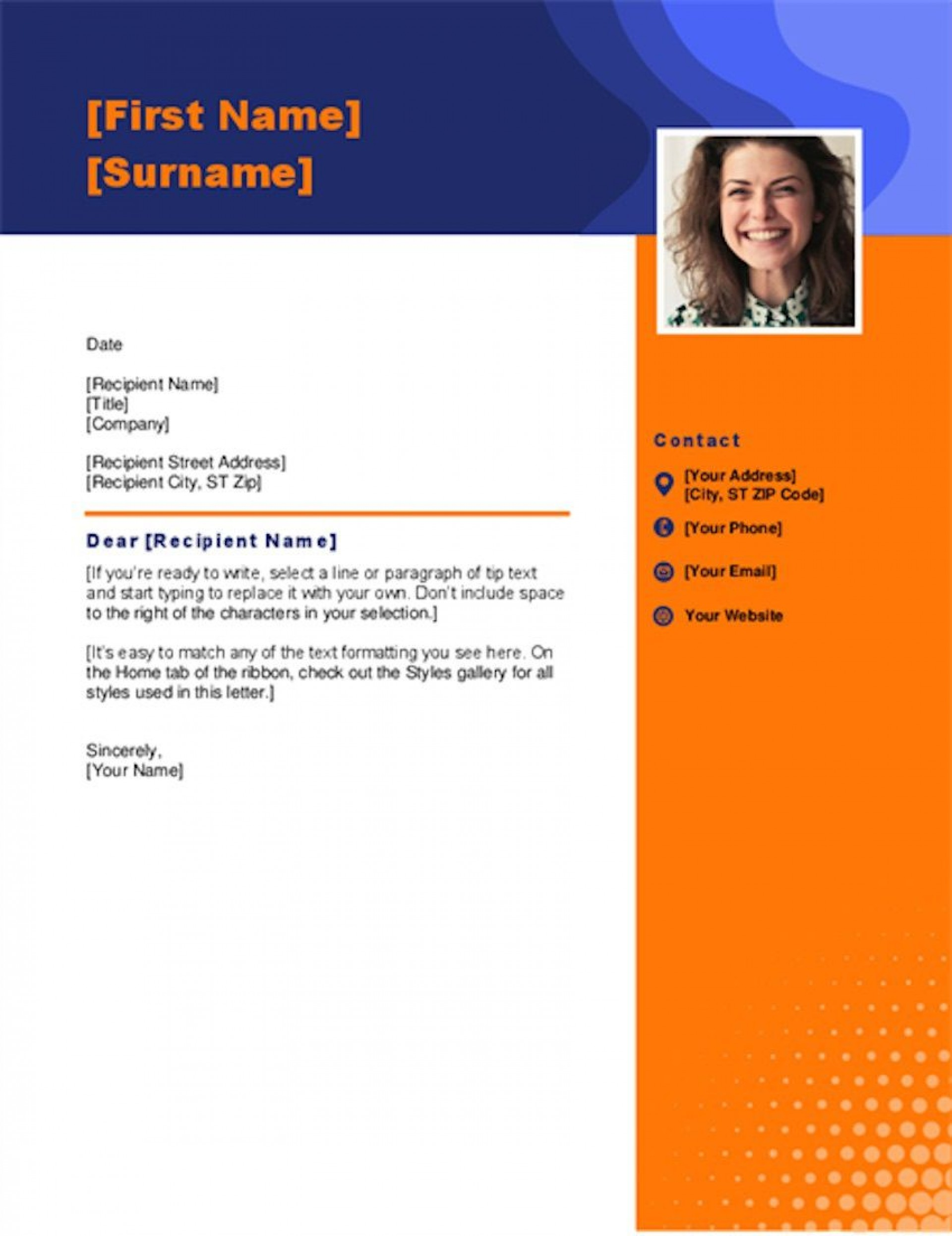 005 Outstanding Cover Letter Template Download Microsoft Word Sample  Free Resume1920
