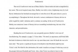 005 Outstanding Frankenstein Essay High Resolution  Critical Pdf Question Who I The Real Monster
