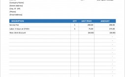 005 Outstanding Free Excell Invoice Template Image  Excel Gst India Canada Tax Australia