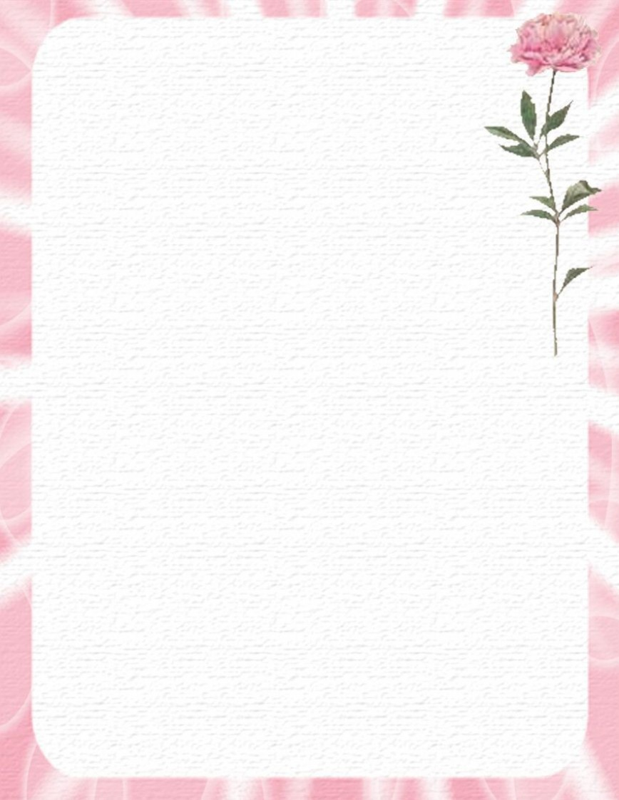 005 Outstanding Free Printable Stationery Paper Template High Def  Templates