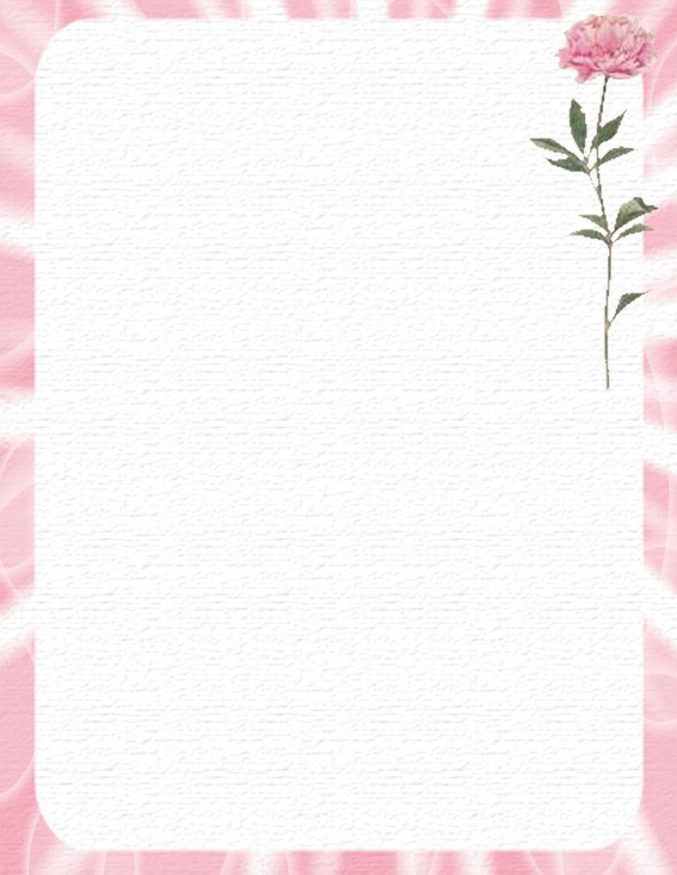 005 Outstanding Free Printable Stationery Paper Template High Def 960