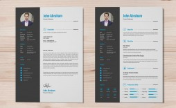 005 Outstanding Free Psd Resume Template High Def  Templates Attractive Download Creative (psd Id) Curriculum Vitae
