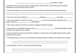 005 Outstanding Free Rental Agreement Template Word Concept  South Africa House Lease Doc