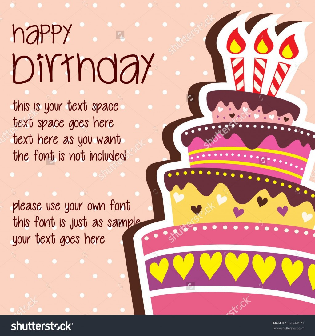 005 Outstanding Happy Birthday Card Template For Word Sample Large