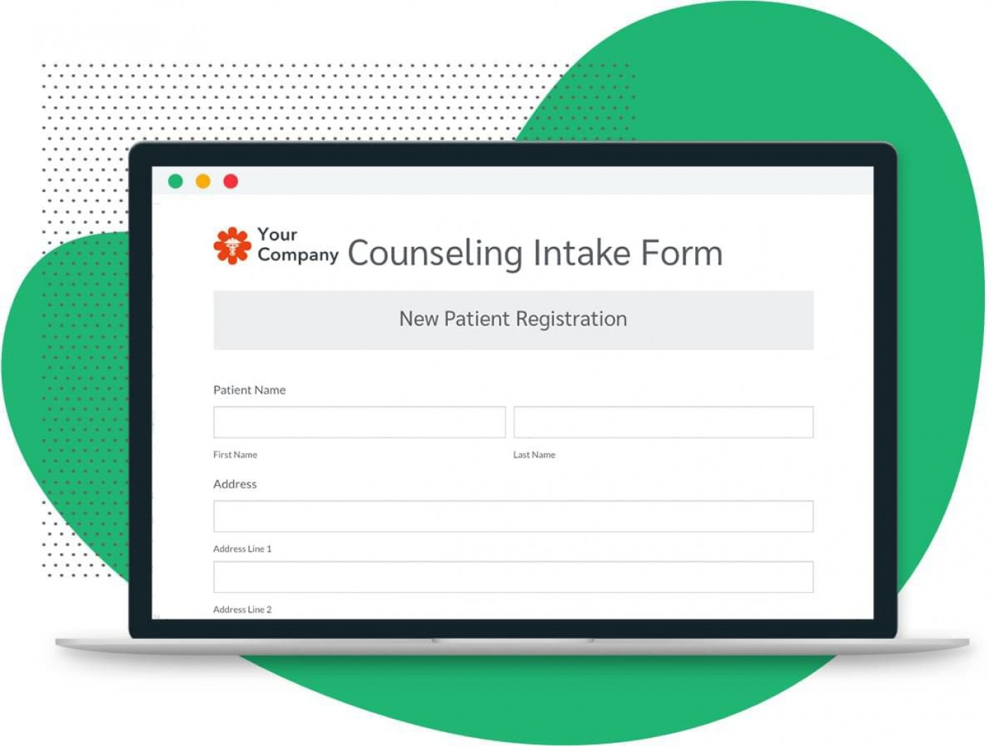 005 Outstanding Mental Health Intake Form Template Example  Counseling Assessment1400