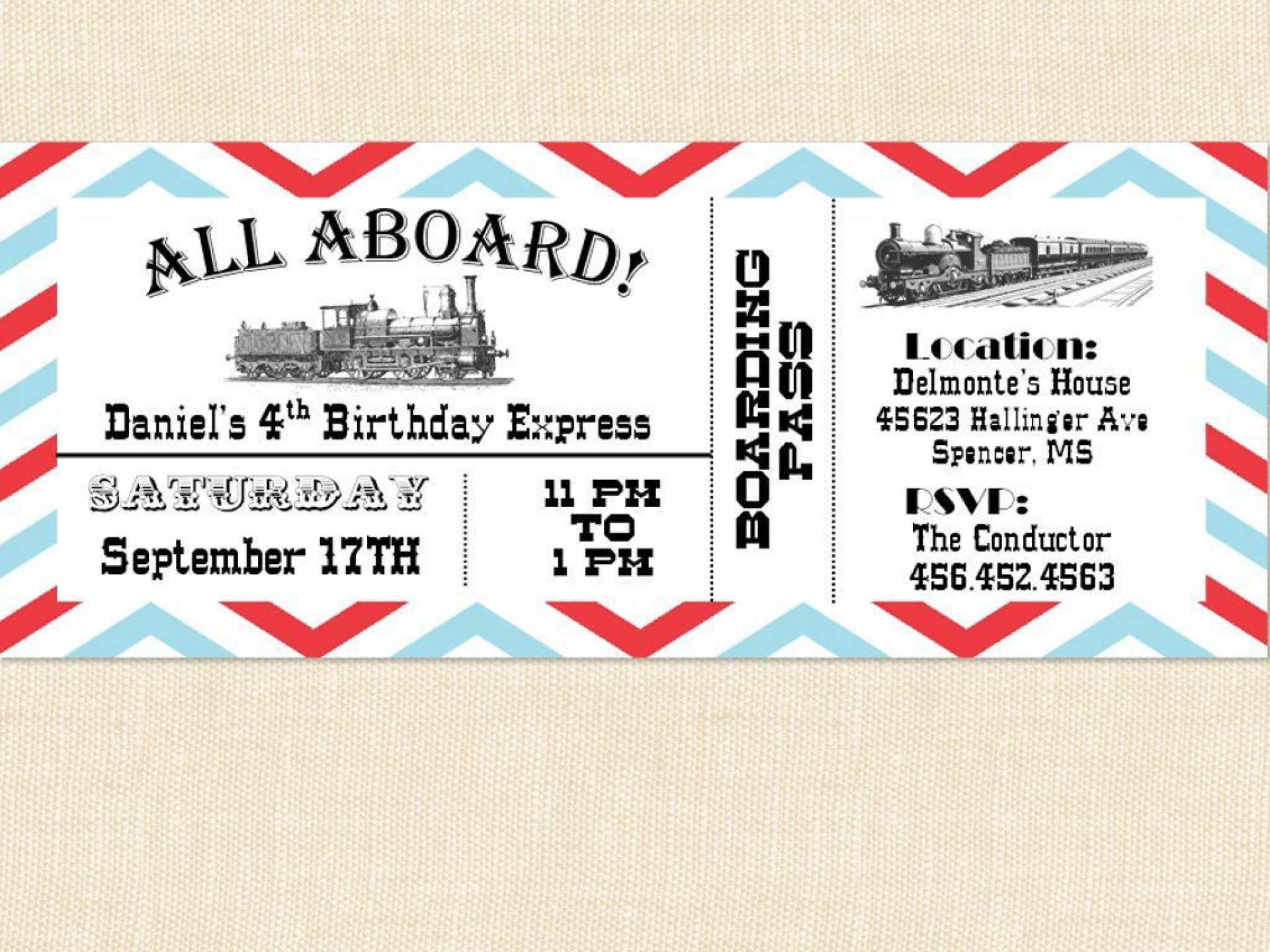 005 Outstanding Print Ticket Free Template Image  Your Own1920