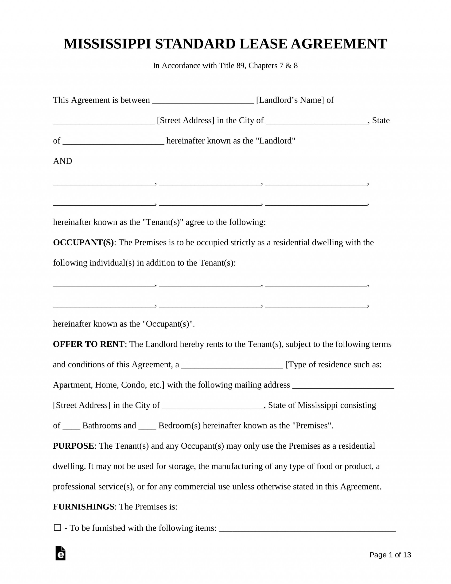 005 Outstanding Rental Lease Agreement Template Inspiration  Templates South Africa California Form Pdf1920