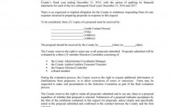 005 Outstanding Request For Proposal Rfp Template Construction Highest Quality