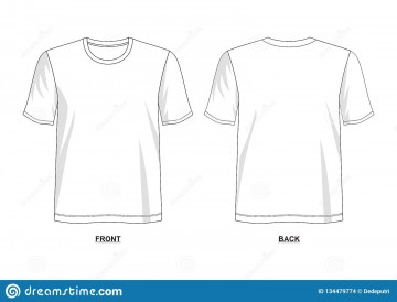 005 Outstanding T Shirt Template Vector Example  Illustrator Design Free Download Ai360