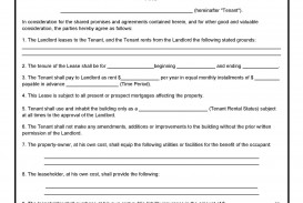 005 Outstanding Template For Lease Agreement Rental Property High Def