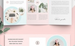 005 Outstanding Three Fold Brochure Template Indesign Picture  3 A4