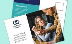 005 Phenomenal Busines Postcard Template Microsoft Word Highest Clarity