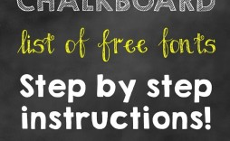 005 Phenomenal Free Birthday Chalkboard Template High Definition  First Printable Baby