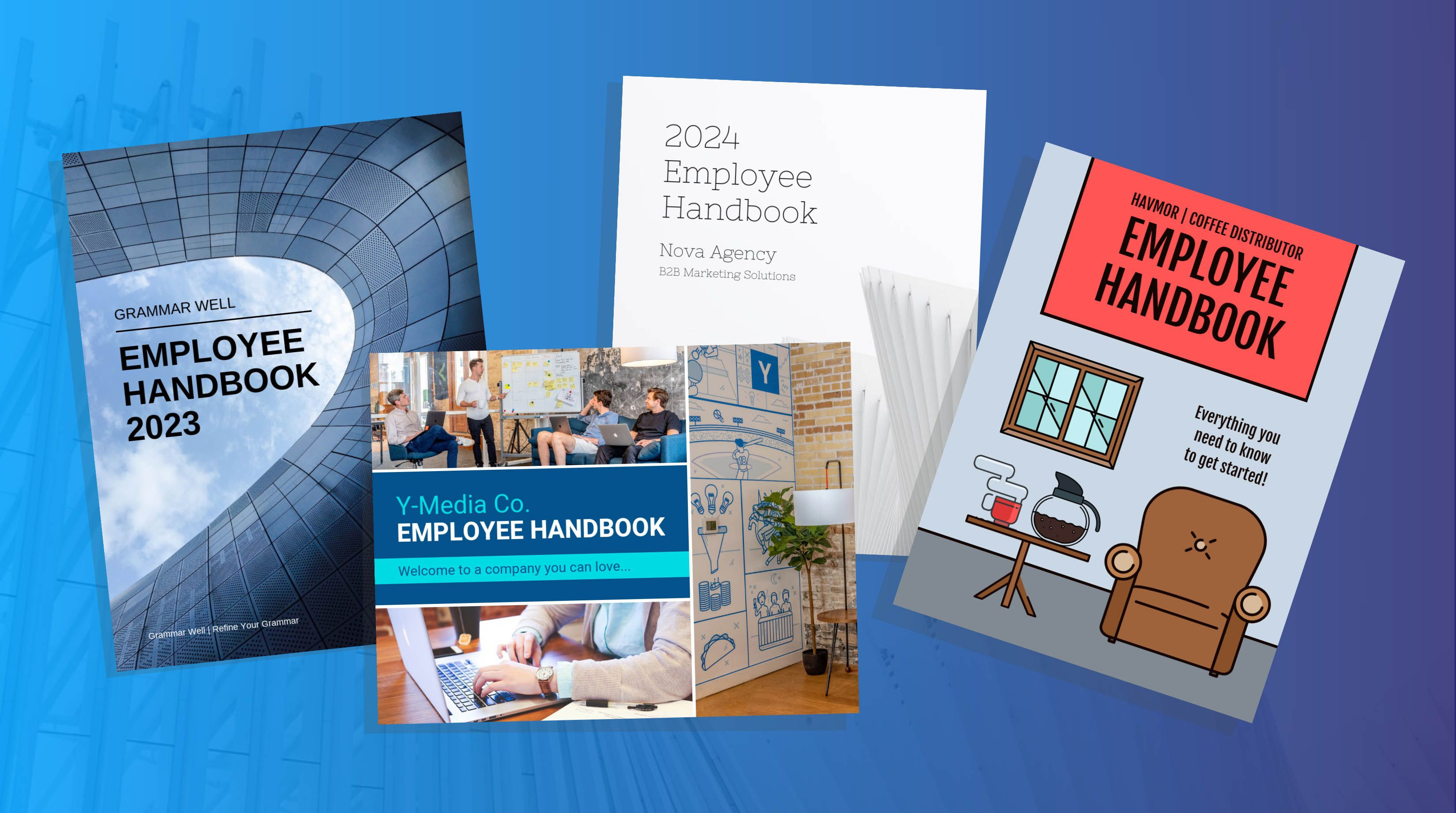 005 Phenomenal Free Employee Handbook Template Inspiration  Templates Sample Canada Philippine In SingaporeFull