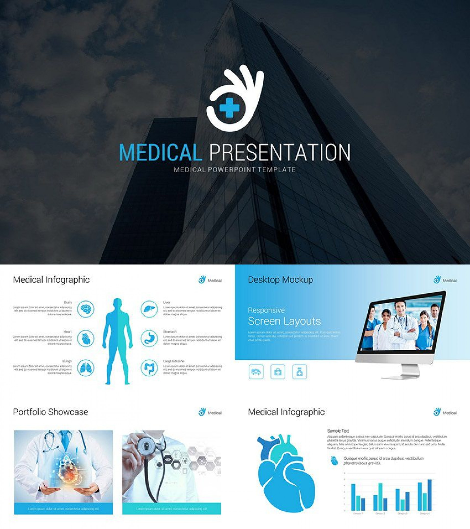 005 Phenomenal Powerpoint Presentation Template Free Download Medical Photo  Animated1920