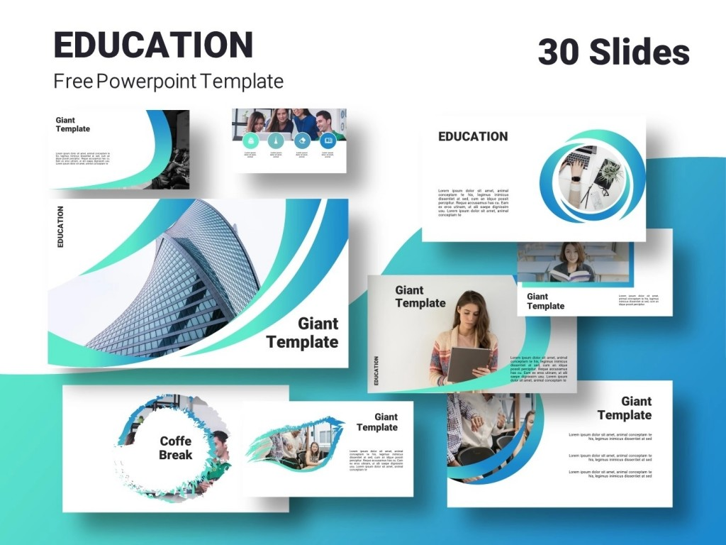 005 Phenomenal Powerpoint Template Free Education Example  Download Presentation PptLarge