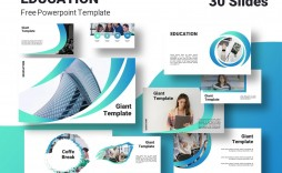 005 Phenomenal Powerpoint Template Free Education Example  Download 2018 Design Presentation