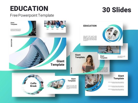 005 Phenomenal Powerpoint Template Free Education Example  Download Presentation Ppt480
