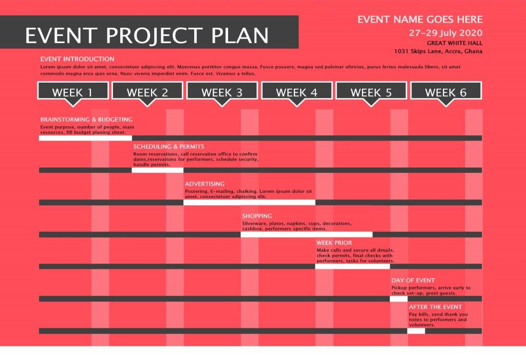 005 Phenomenal Project Management Plan Template Excel Free Idea  RiskLarge