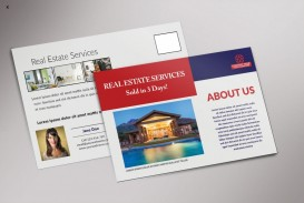 005 Phenomenal Real Estate Postcard Template Inspiration  Agent For Photoshop Investor